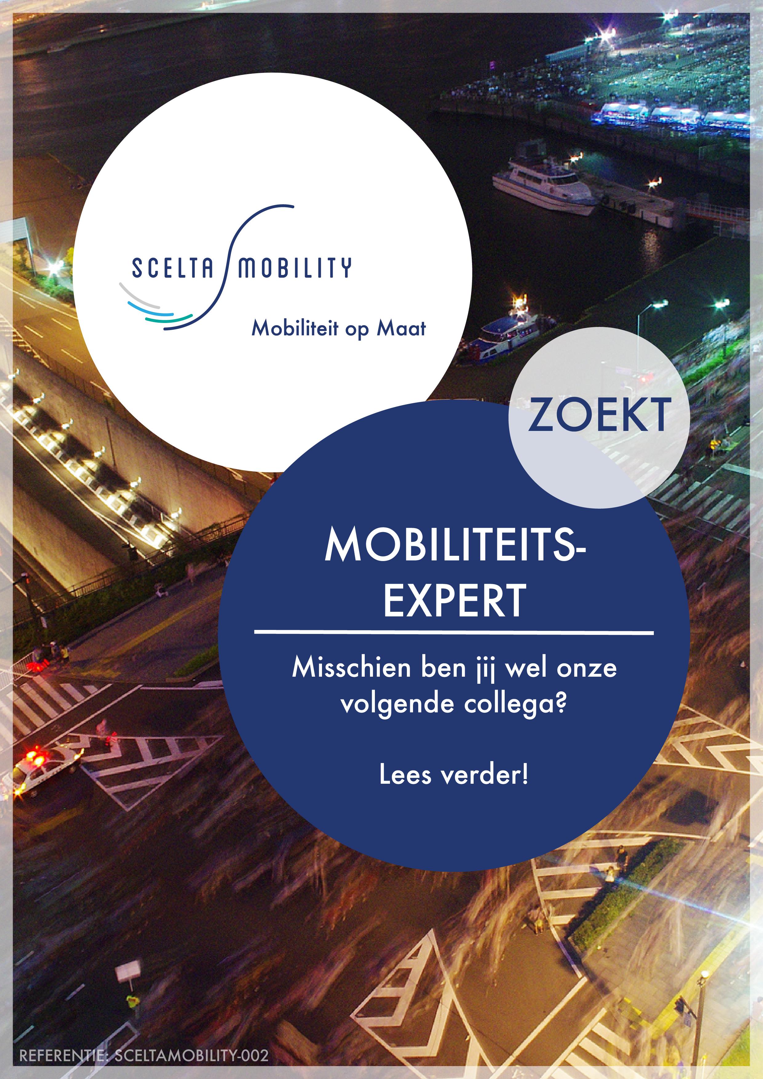 Vacature Mobilliteitsexpert