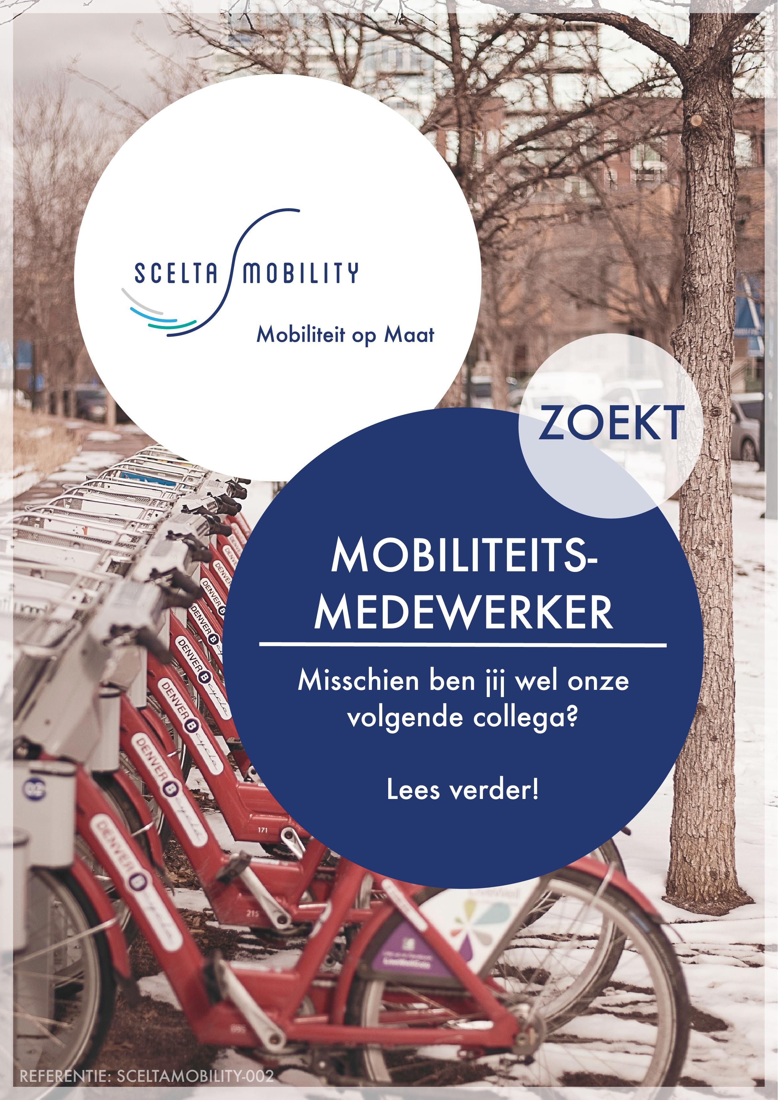 Vacature Mobiliteitsmedewerker